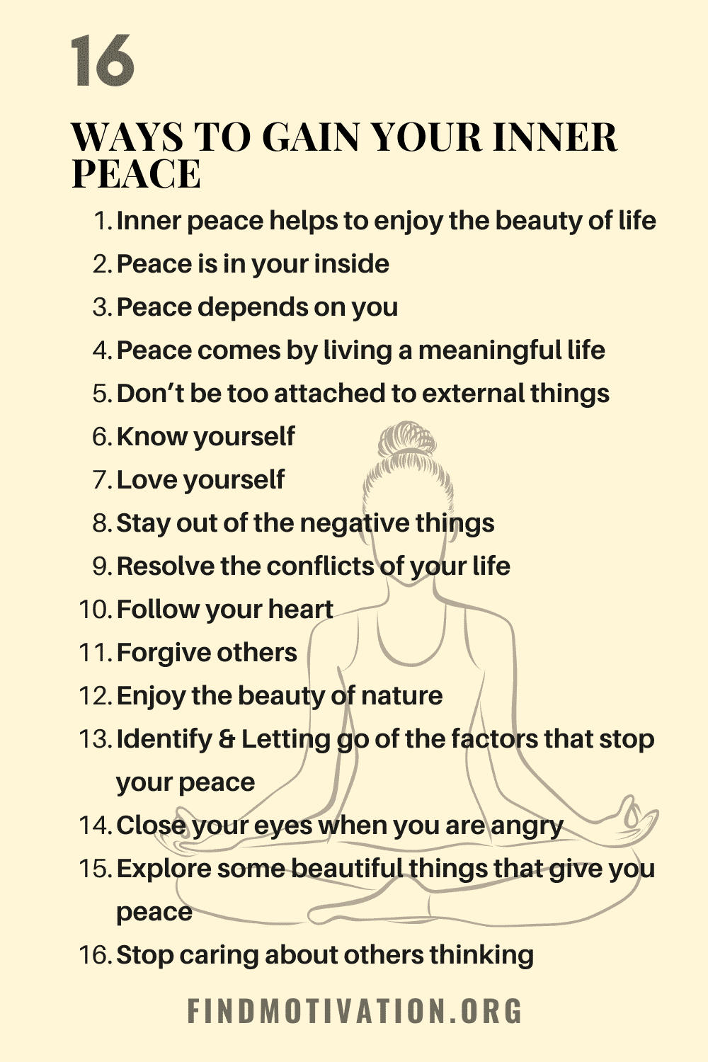 The best ways to gain inner peace which will help you to find inner peace for yourself