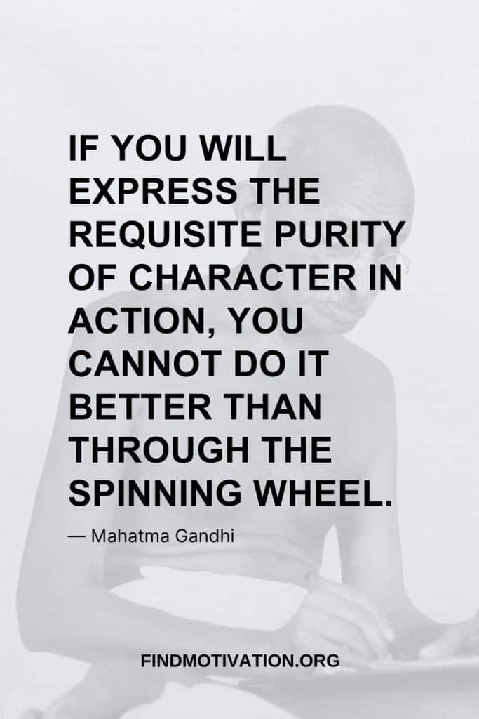 Action Quotes said by Mahatma Gandhi
