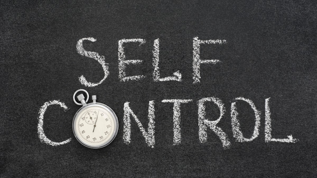How to control yourself in every situation