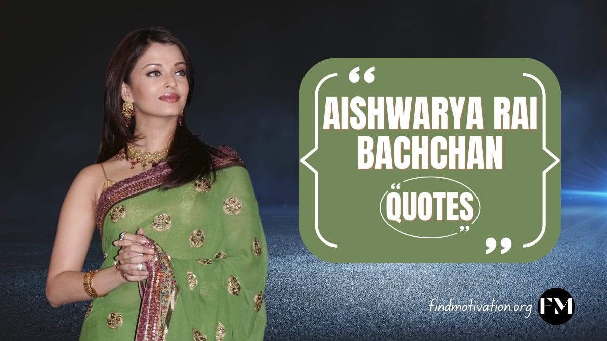 Aishwarya Rai Bachchan to find motivation
