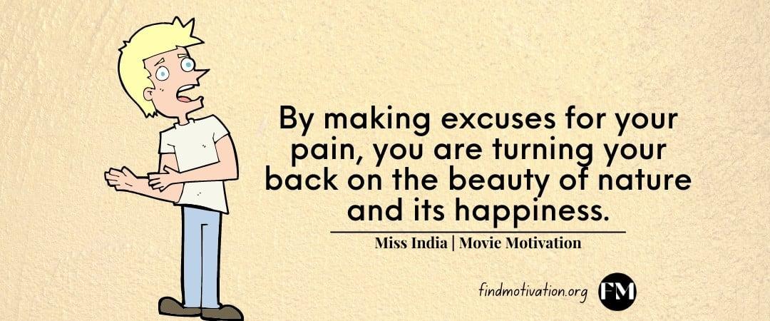 Miss India movie inspiring quotes