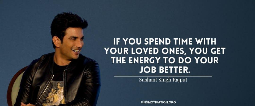 Sushant Singh Rajput Quotes