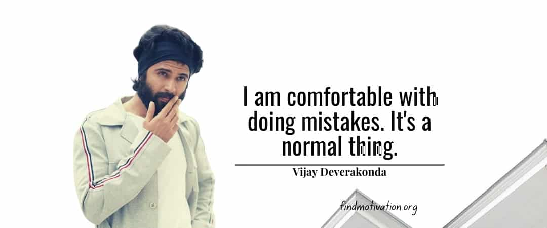 Vijay Deverakonda Quotes To Help You To Find Motivation In Your Life