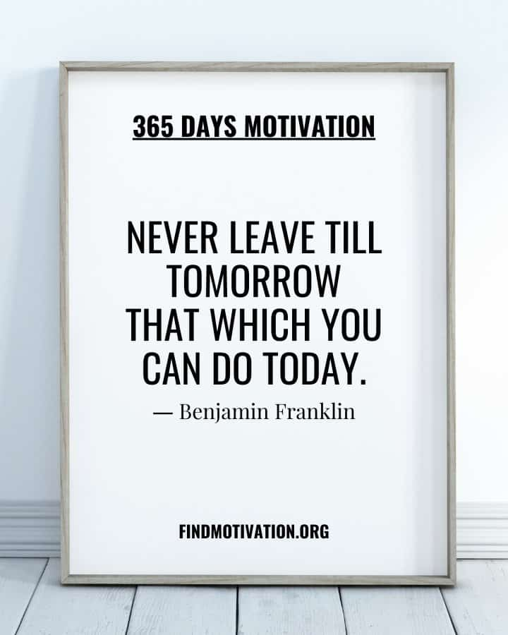 365 Days Best Inspirational Quotes