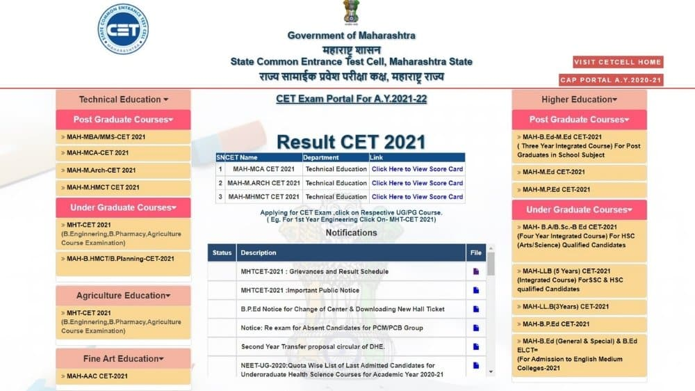 How To Check MHT CET Answer Key 2021