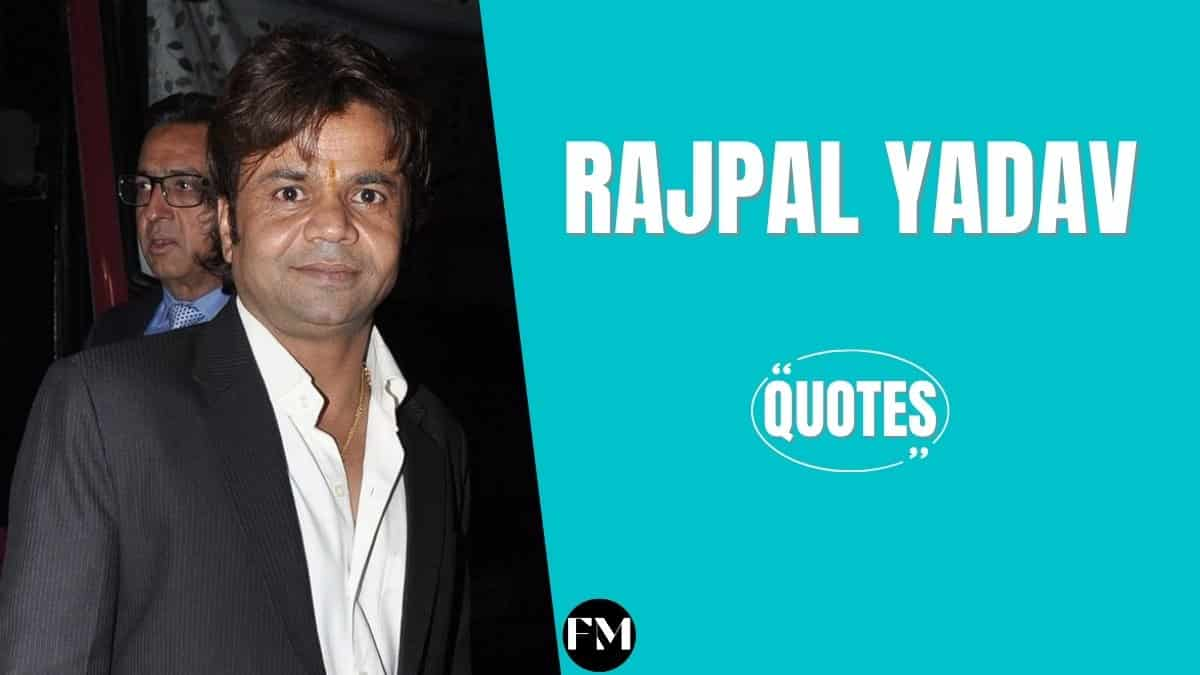 Rajpal Yadav Quotes To Know About Work, Comedy & Life