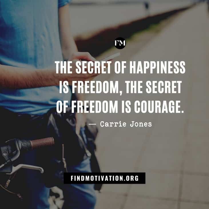 Motivational Be Free quotes to achieve freedom by understanding your thoughts