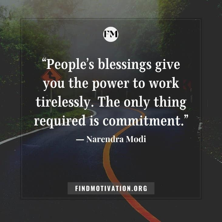 The best inspirational blessing quotes to stay and to feel blessed in your life