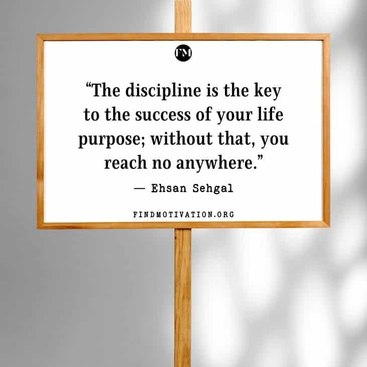 The best inspirational discipline quotes to show the right direction to your life