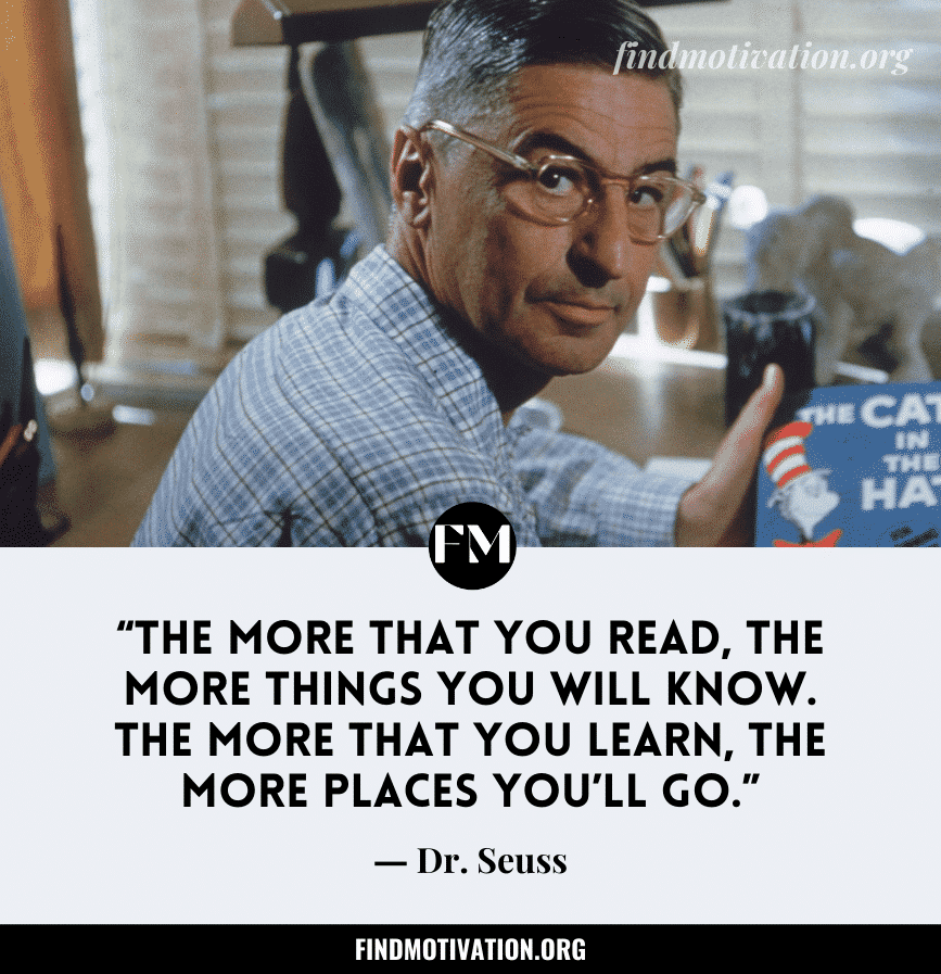 Dr Seuss Inspiring Quotes & Sayings To Live A Fantasy Life