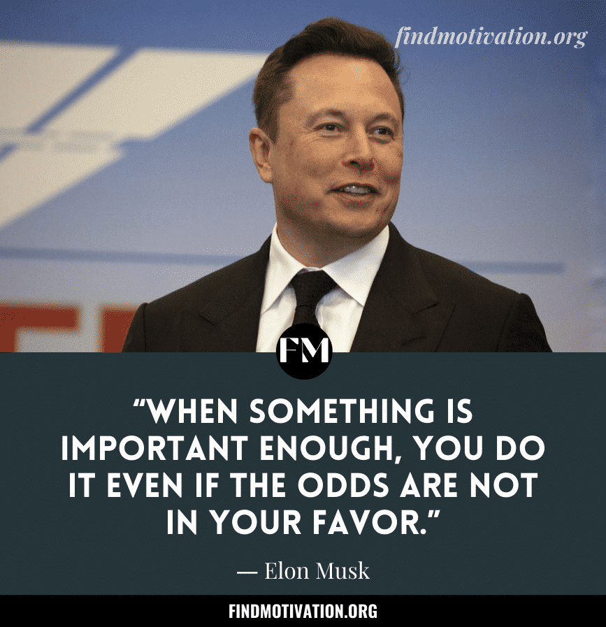 Elon Musk Inspiring Quotes To Work Like A Visionary