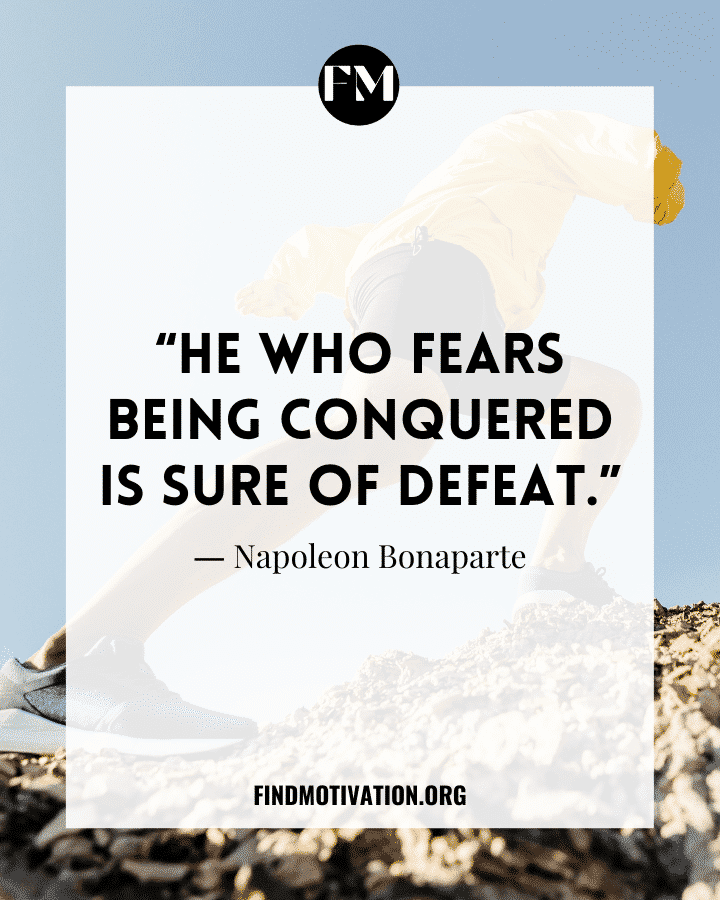 Inspiring Quotes About Fear of Failure