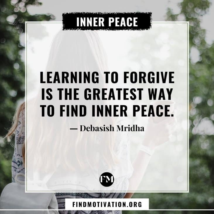 The best inner peace quotes for you which will help you to find inner peace for yourself