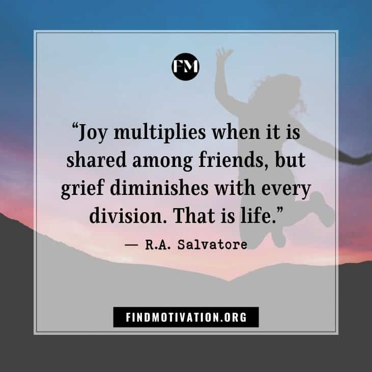 Inspiring joy quotes to find the ways of life enjoyment