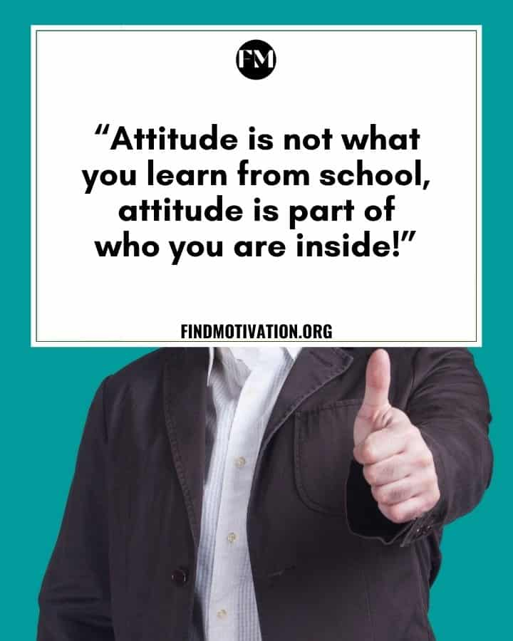 Killer Attitude Quotes to do your work in a great way