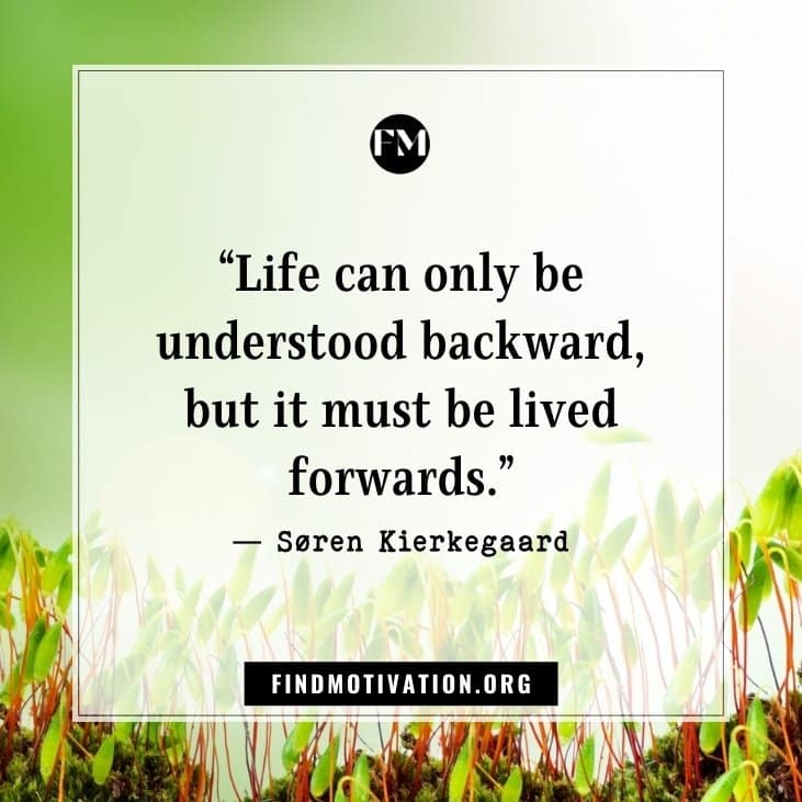 Inspirational quotes about life goes to face the difficulties and move on in your life