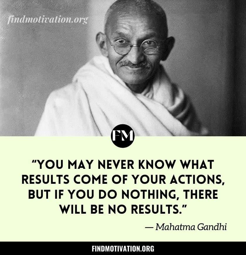 Mahatma Gandhiji Quotes To Grow Your Self-Esteem