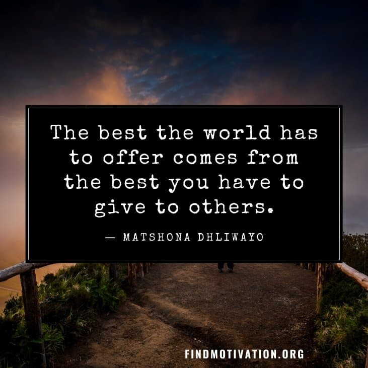 Inspirational make a difference quotes to inspire you to do something different in your life