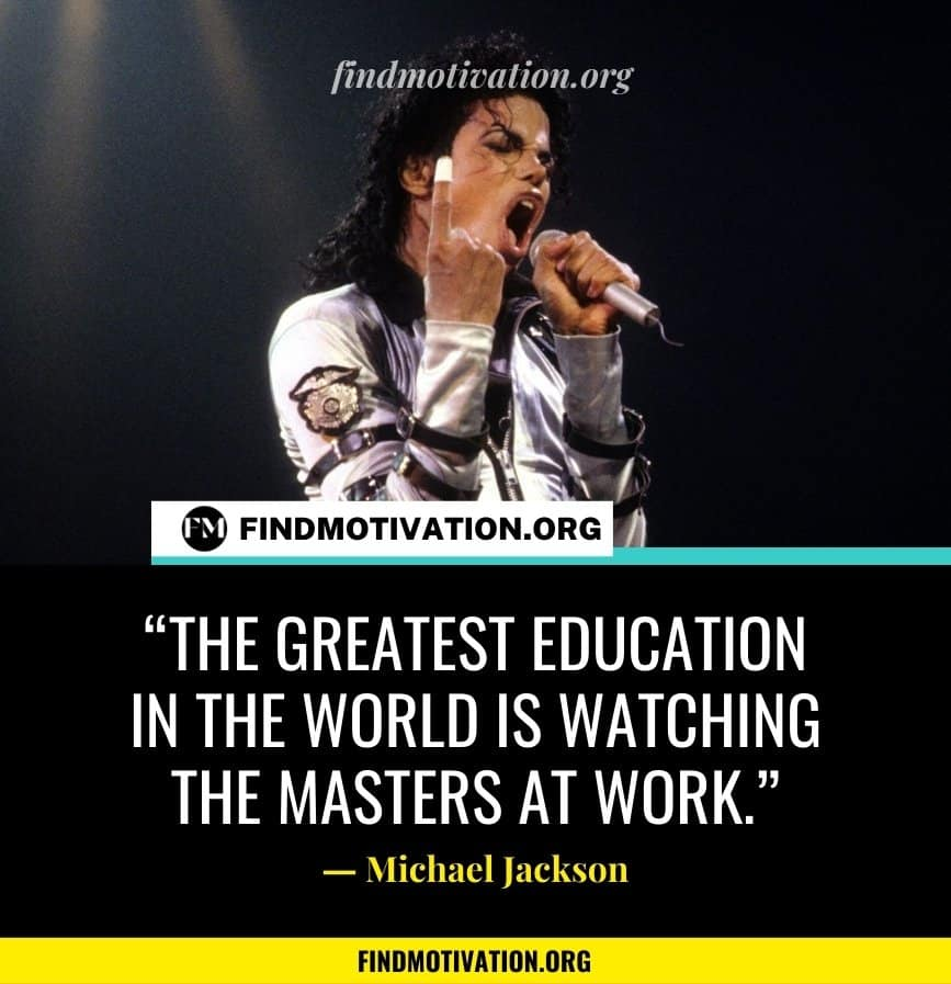 Michael Jackson Quotes To Help You To Believe In Yourself