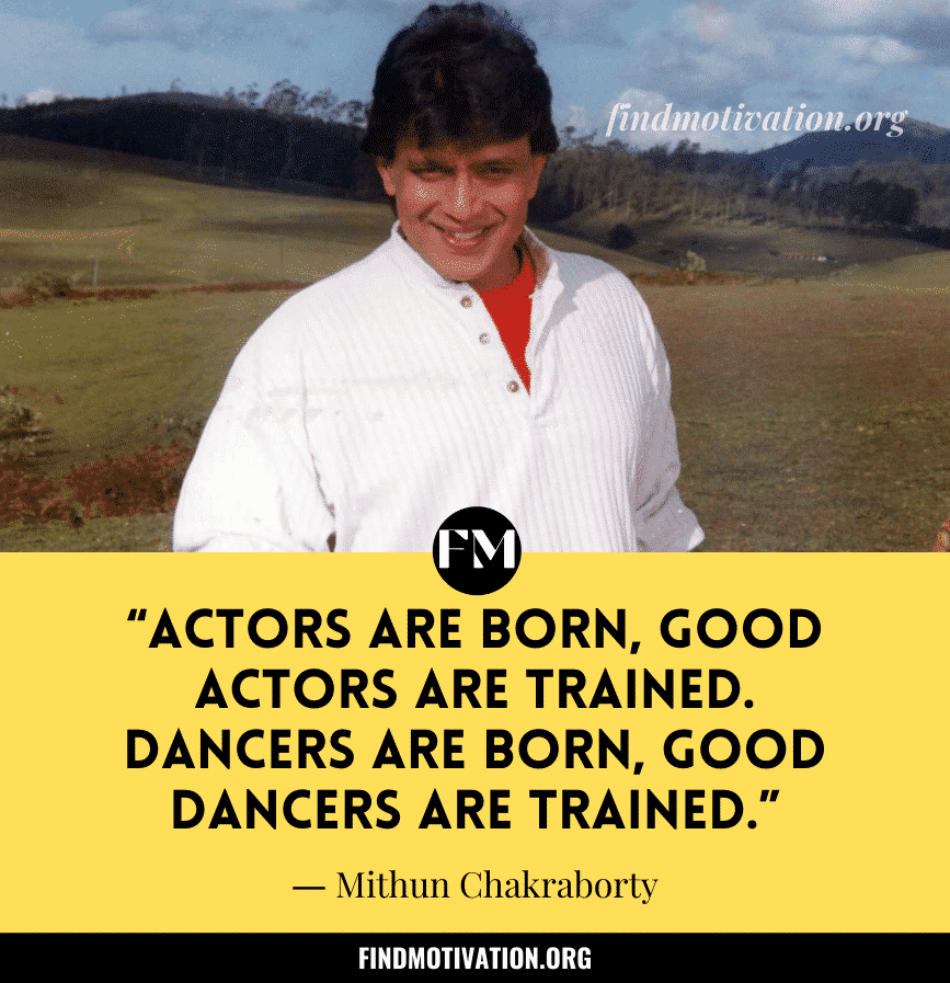 Mithun Chakraborty Inspiring Quotes & Dialogues From Movies