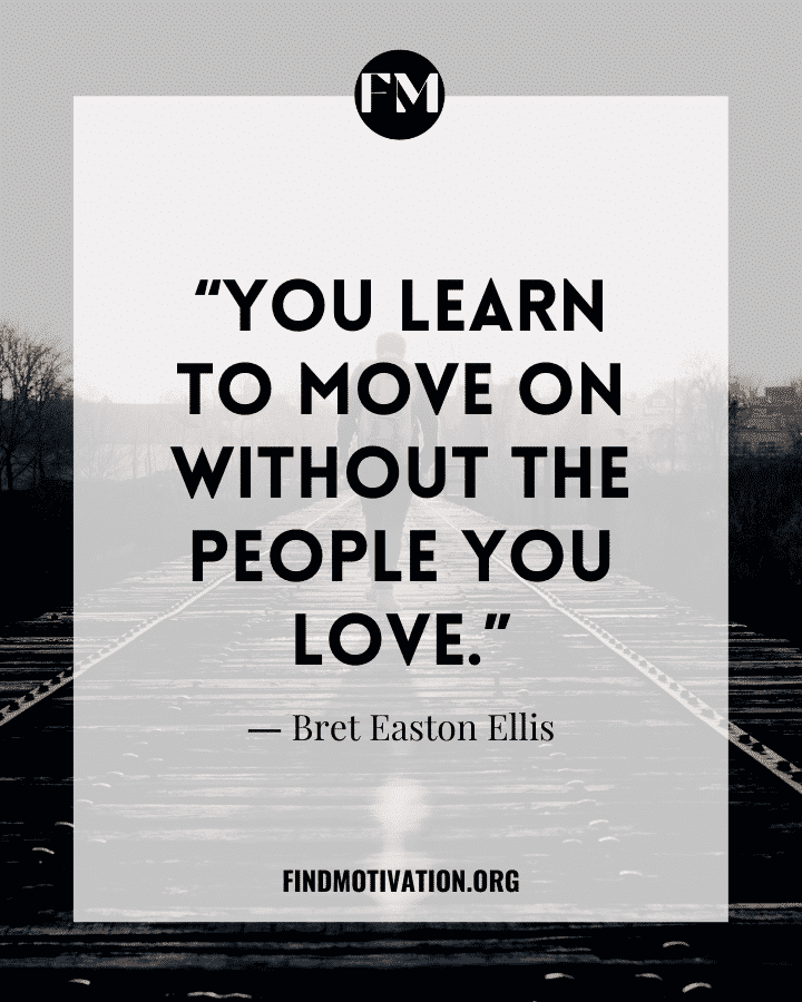 Inspiring Quotes about Move on