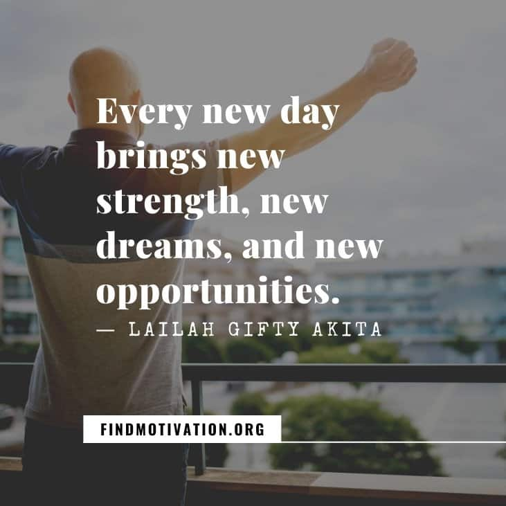 The best inspirational new day quotes to welcome a fresh day of your life