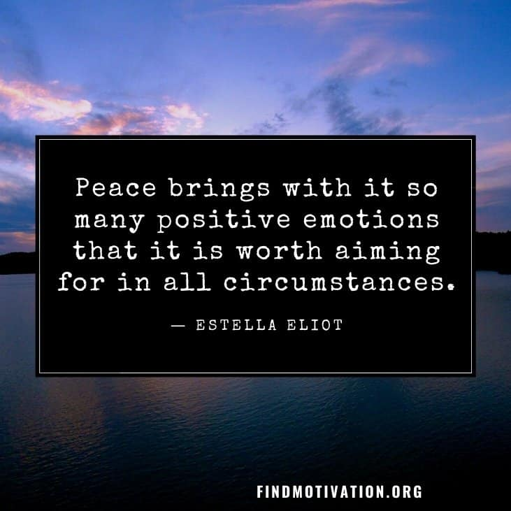 Inspirational quotes about peace on earth to know the path to spread peace all over the world