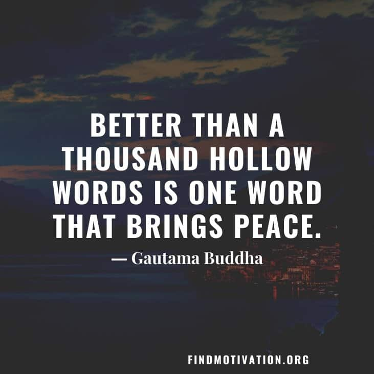 Inspirational peacemaker quotes to inspire you to make a peaceful surrounding
