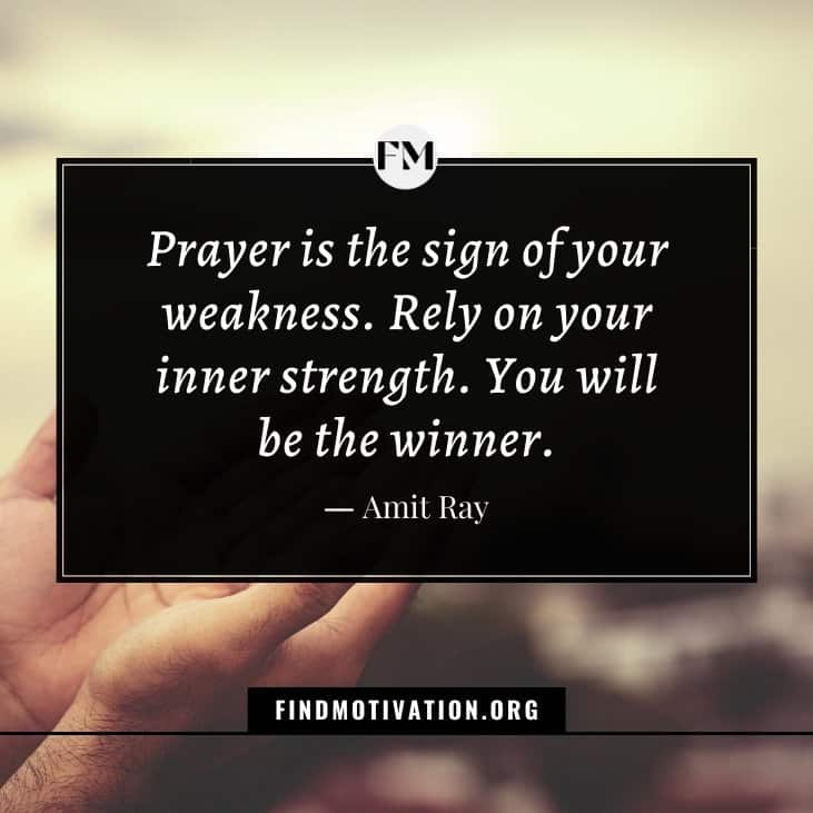 The best inspirational prayer quotes that will help you to live a prayer life