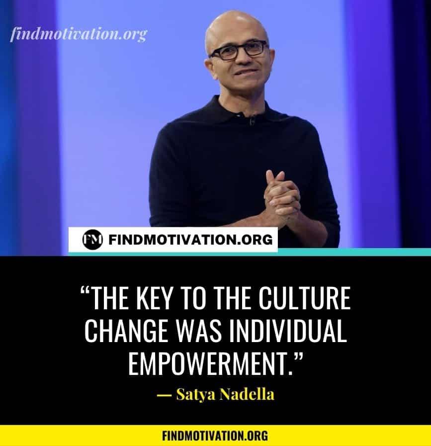 Satya Nadella Inspiring Quotes