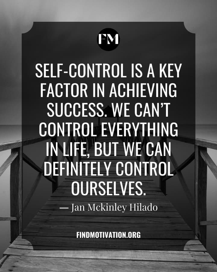 Self-Control Quotes To Master Yourself In Every Situation