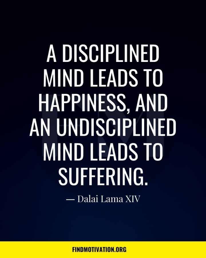 Self-Discipline Quotes to discipline yourself