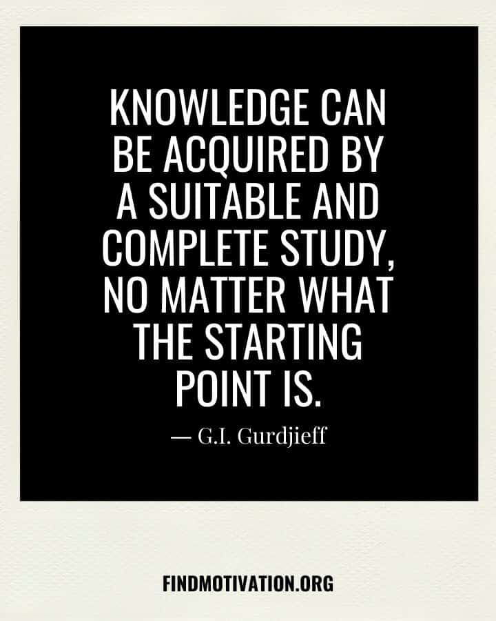 Self-Knowledge Quotes to know yourself