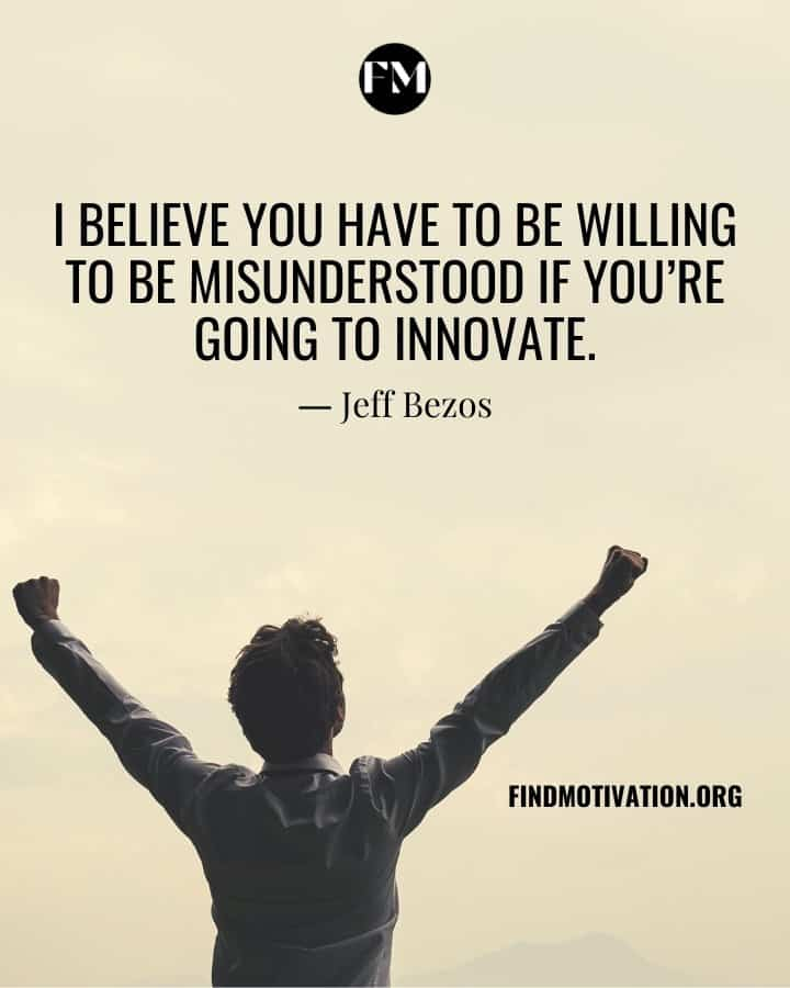 Self-Made Quotes To Energize You To Innovate New