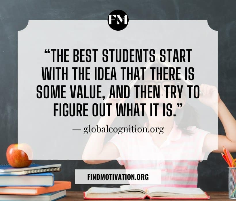 Student Motivation Quotes to inspire students