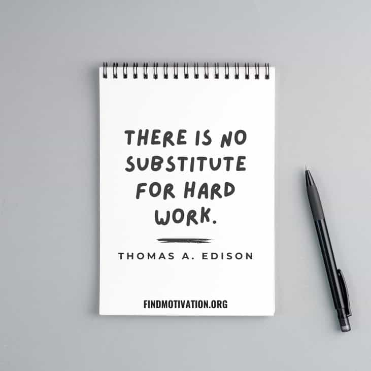 The best inspiring quotes by Thomas Alva Edison to know how to learn from failure in your life