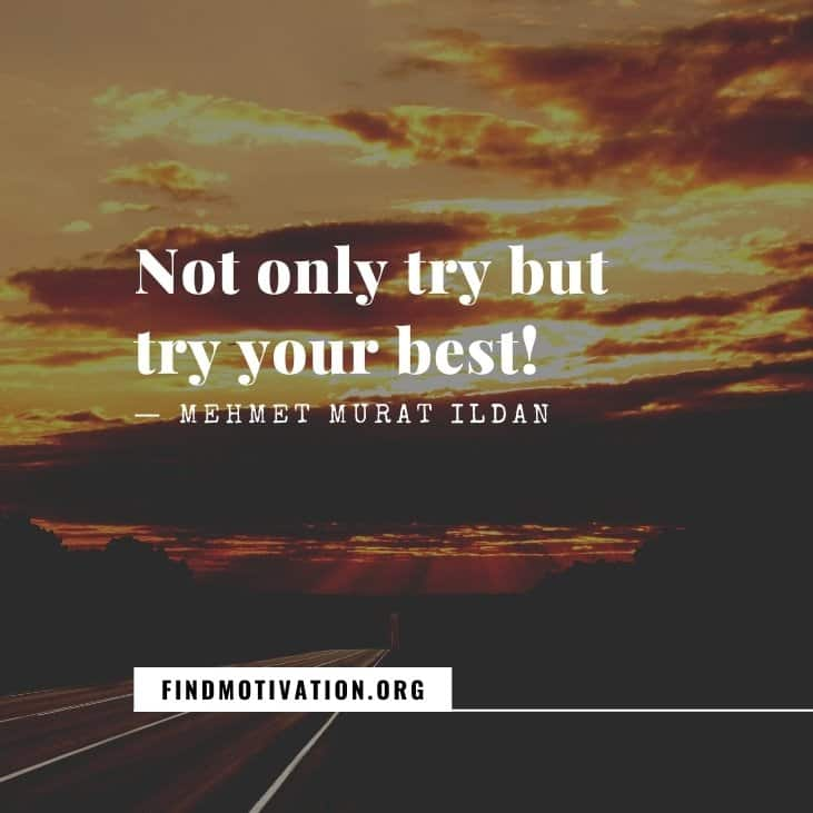 The best inspirational trying hard quotes to turn your failure into success