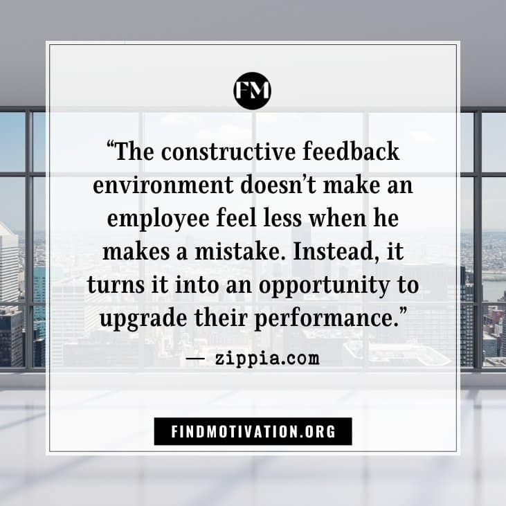 Learning quotes about the work environment from popular websites to focus on your work